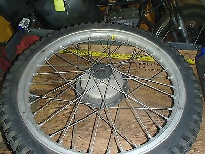 Bultaco Alpina 250 1975? front rim I have more parts for this bike/others