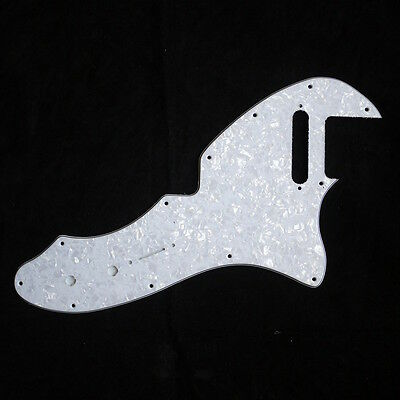 69 Telecaster Tele Thinline Re-Issue Style Guitar Pickguard ,4Ply White Pearl