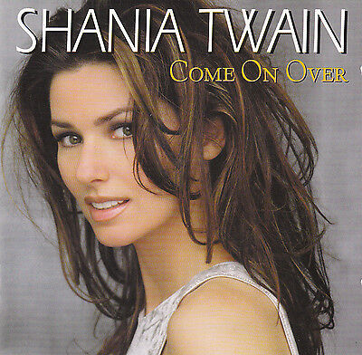 Shania Twain : Come On Over / Cd - Top-Zustand