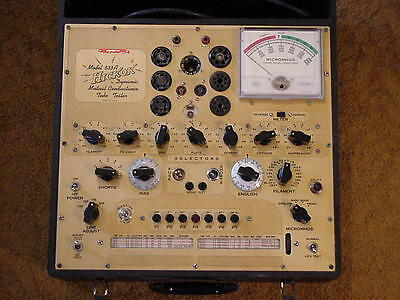 Hickok 533A Mutual Conductance Tube Tester VG