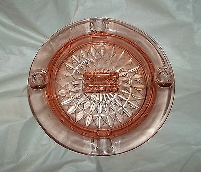 Beautiful Jeanette Pink Windsor Ashtray,  HTF