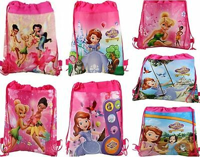 New Disney Sofia Tinkerbell Goody Gift Bag Birthday Party Favor Wholesale