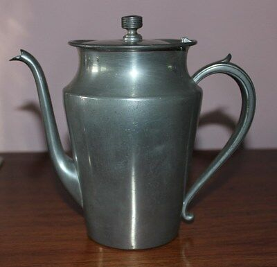 OLD PEWTER COFFEE POT - BY SALEM PEWTER -