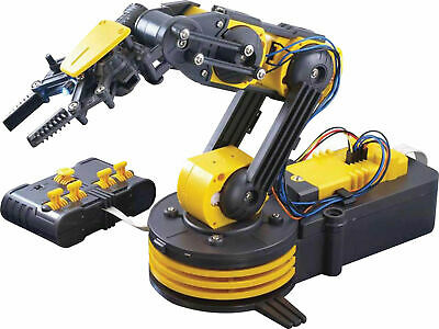 Robotics Project Robotic Arm Electronic Kit Wired remote control 100gm lifting c