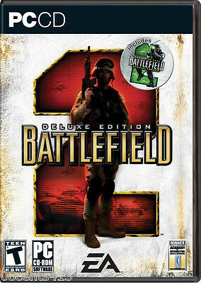 Battlefield 2: Deluxe Edition (5-Disc PC) 30+ Land, Sea, & Airborne Vehicles!