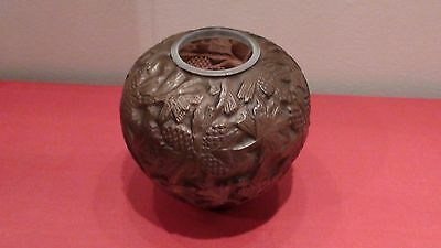Phoenix Consolidated Art Glass-Pine Cone Vase