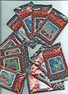 Coca-Cola Collector Cards ~ 12 Series 1 Unopened Packs ~ 1993