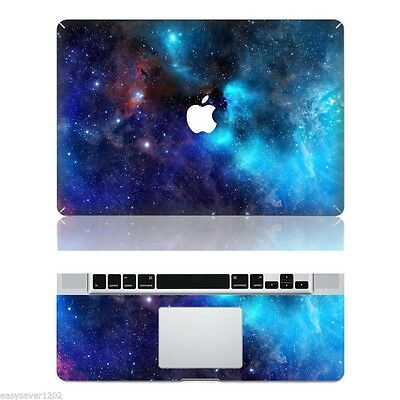 "Galaxy Vinyl Apple Macbook Pro 13"" Top Skin Decal Sticker Protector For Laptop"
