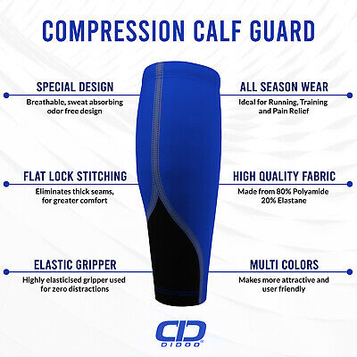 Compression Base Layer Running Thermal Calf Guard Leg Warmer Sportswear Outdoor