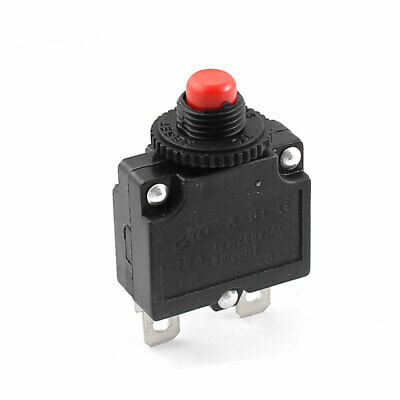 AC 125V/250V 15A Push Button Circuit Breaker Protector