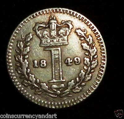 GREAT BRITAIN - UK  1849  Maundy 1d