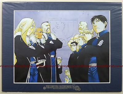 Fullmetal Alchemist Art Collection vol.9 picture w/frame official anime roy
