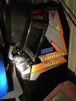 Thunder Blade Stand Up Helicopter Arcade Game