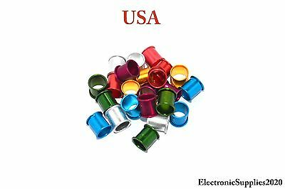 Pigeon Rings Aluminum Rings For Pigeons 24 pcs Purple included. USA Shipping!!!