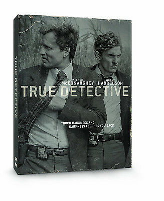 True Detective - Season 1 DVD (2014) HBO New One First Matthew McConaughey