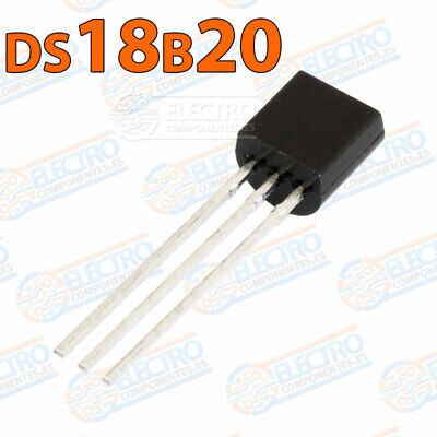 DS18B20 Sensor Temperatura TO-92 0,5ºC precision 5v integrado
