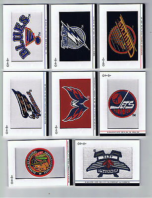 14-15 OPC O-Pee-Chee Team Logo Patch # 246 Vancouver Canucks 1978-79 to 1991-92