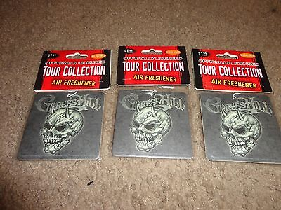 CYPRESS HILL SKULL LOGO OUTDOOR BREEZE AIR FRESHENER set of 3