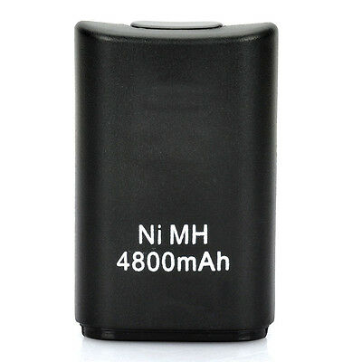 New 4800mAh Rechargeable Battery Pack for Xbox 360 Wireless Controller