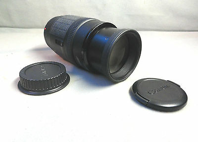 CANON ZOOM EF Lens 70-210mm 1:4 F4 Macro for DSLR made in Japan MINT with CAPS