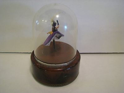 Vintage Reuge Dancing Ballerina Music Box  french cancan  not working
