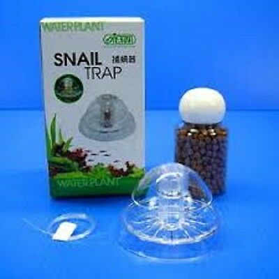 ISTA Snail Trap & Food Aquarium Fish Tank Pest Snail Trapper Remove