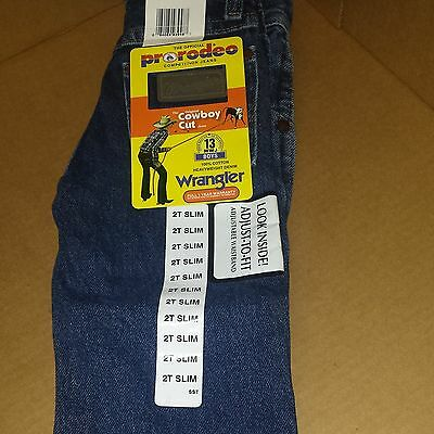 Wrangler® Original Fit Jean-Cowboy Cut® - Sizes 1t-2t-3t-4-5-6-7-13MWZJP/BLUE