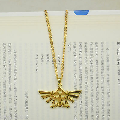 New anime game Zelda cosplay Twilight Princess necklace pendant gold hot