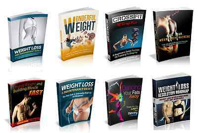 100 Weight Loss & Fitness eBooks With Resell Rights ( Only 5 ¢ per Book )   PDF