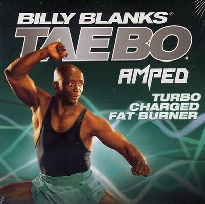 Billy Blanks Tae Bo Cardio Kickboxing AMPED TURBO CHARGED FAT BURNER!
