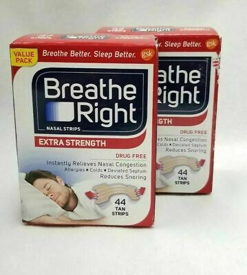 182 BREATHE RIGHT NASAL STRIPS, EXTRA CLEAR ( 7 x 26 Ct Boxes ) Ships World Wide