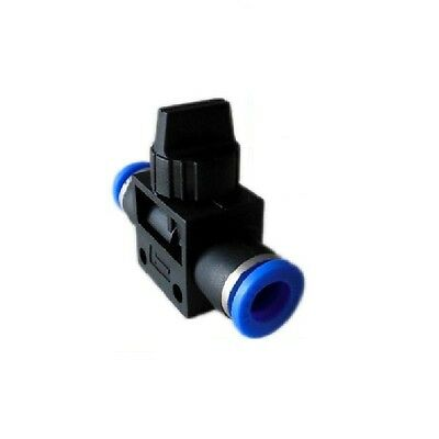 Nylon Pneumatic control BALL VALVE hose tube inline push fit connector air line