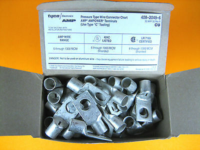 Tyco Electronics -  325305 -  Electrical Connector, 50pcs, 1/0 AWG