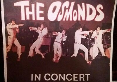 The OSMONDS 1972 Tour Concert Program