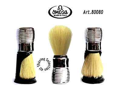 OMEGA SHAVE BRUSH - The Complete ULTIMATE Shave Brush - Complete with its stand