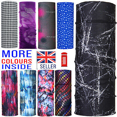 Multiuse Cycle Running Neck Tube Snood Scarf Face Mask Warmer Bandana Balaclava
