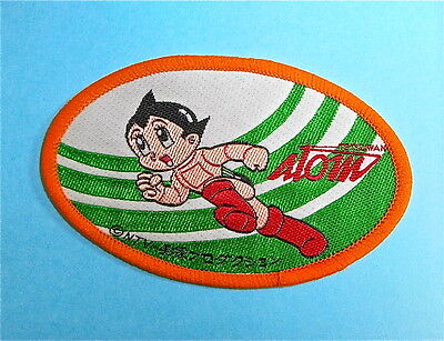 Astroboy Patch Vintage Tezuka Atom Anime Embroidered