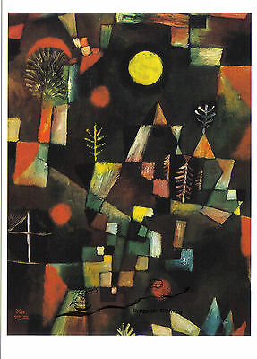 Kunstkarte / Postcard  Bauhaus  -  Paul Klee  -  Der Vollmond - The Full Moon