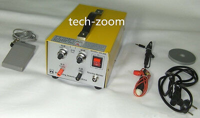 Pulse Sparkle Spot Welder 200W Jewelry Welding Machine Gold Silver Platinum US
