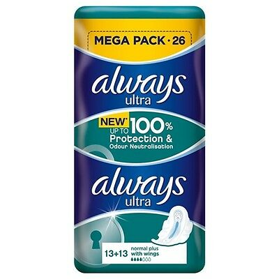 Always Ultra Duo Norm Plus 26 Pads