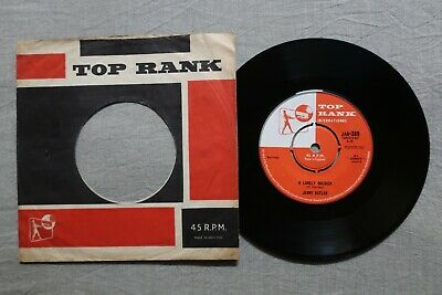 JERRY BUTLER I found a love / a lonely soldier TOP RANK 7-inch JAR 389!