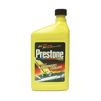 1Lt Concentrate Prestone Antifreeze / Coolant Mixes With All Red Green Blue