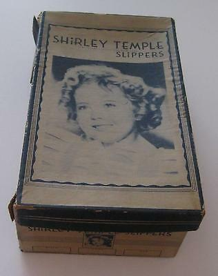 Shirley Temple 1930's Original Restful Footwear Slipper Box