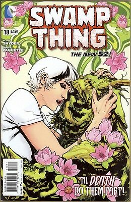 Swamp Thing #18 - NM - New 52