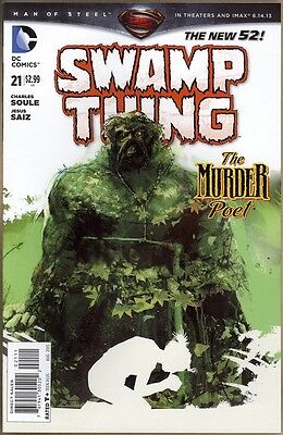 Swamp Thing #21 - NM - New 52