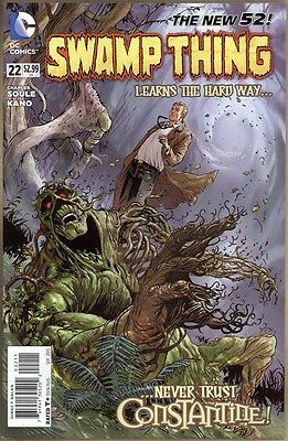 Swamp Thing #22 - NM- - New 52