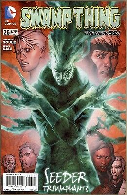 Swamp Thing #26 - NM- - New 52