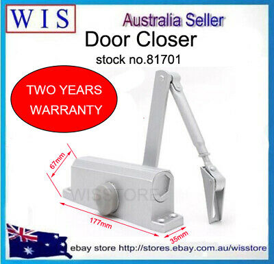 0-180° Adjustable Universal Hydraulic Door Closer,Adjustable Closing Speed-81703