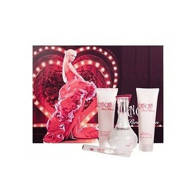 Can Can 4 Piece Gift Set 3.4 oz.EDP Spray By Paris Hilton For Women