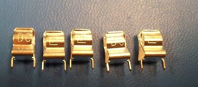 (6pcs) 01220083H Circuit Board Mount FuseClips for 0.25Diameter Fuses-Littelfuse